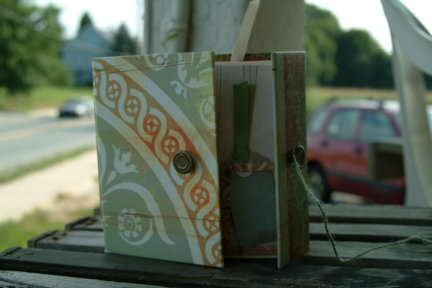 Basic Grey Altered Book - 1