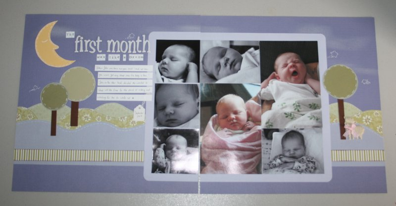the First Month was like a dream