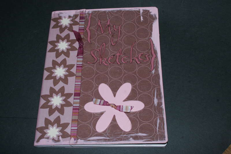 {My Sketches}- Altered Comp Book