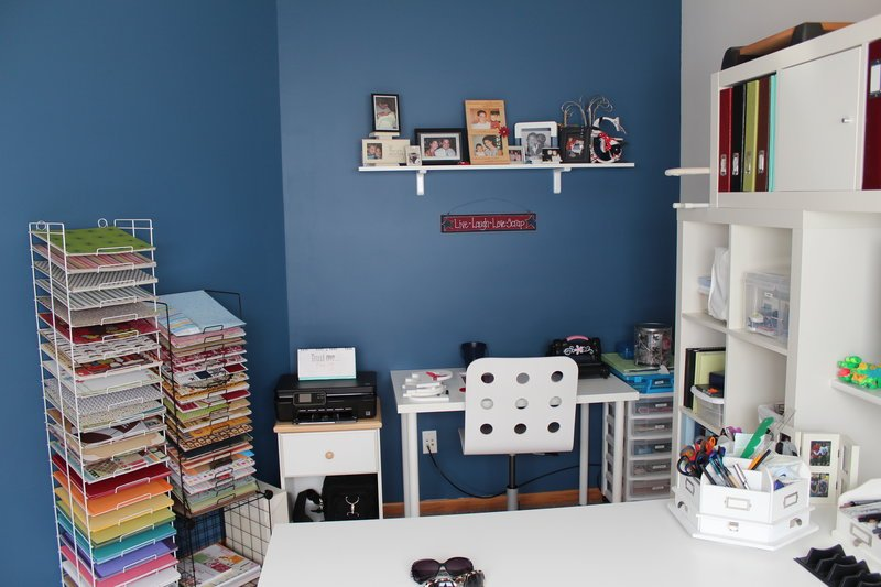 New scrapbook room!
