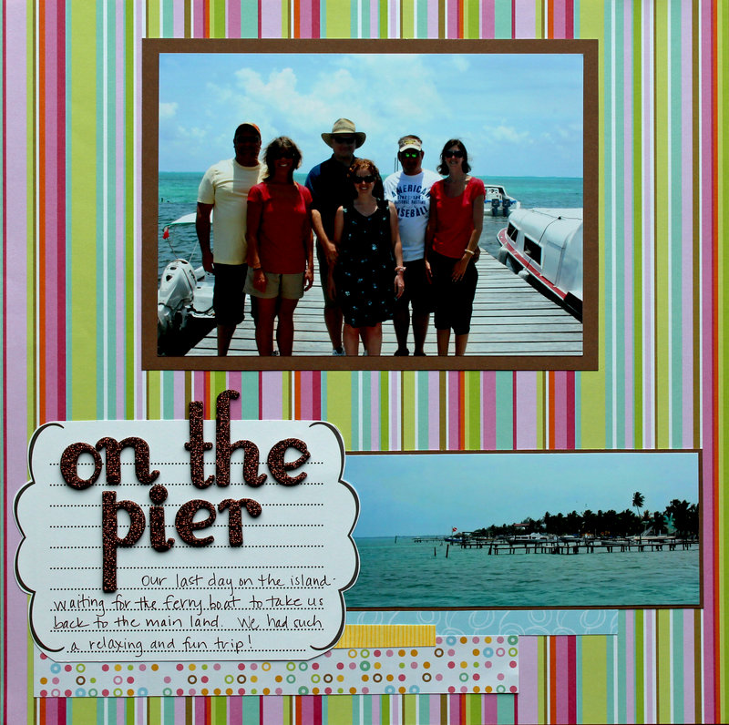 On the Pier -Belize 2009 (left side)