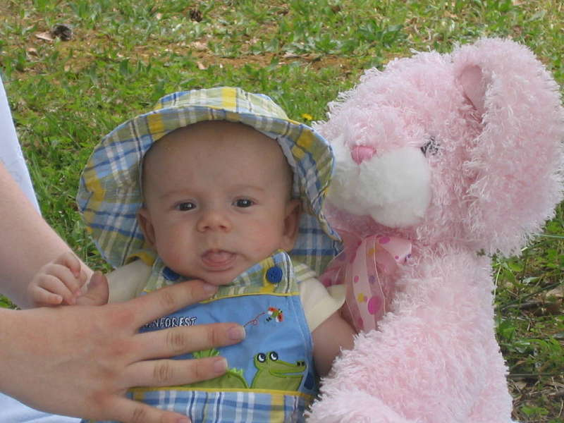Caleb's first easter!