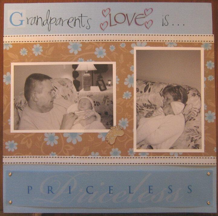Grandparents Love is Priceless