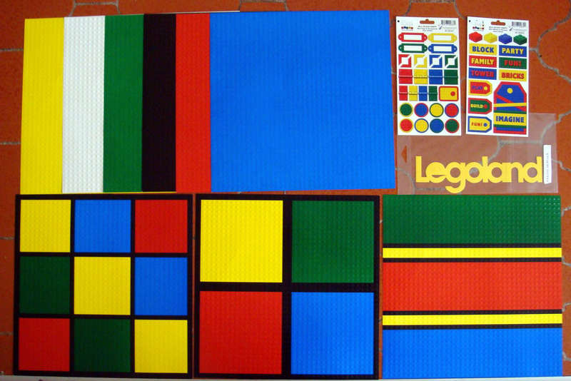Paquete de Legoland que me mando Betsy