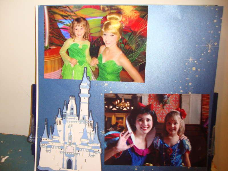 Tinkerbell Snow White Disney Trip