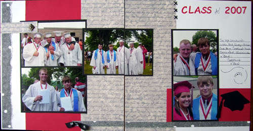 Class of 2007 Graduation pages 3 & 4