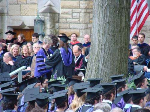 Kenyon College Commencement 2008