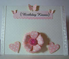 ~Birthday Kisses Card