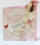 Shabby Chic Card Book Cover