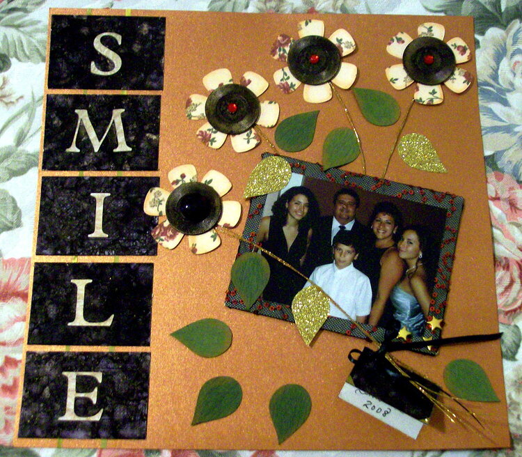 Smile ~ Jan. Scrap-Pack Challenge