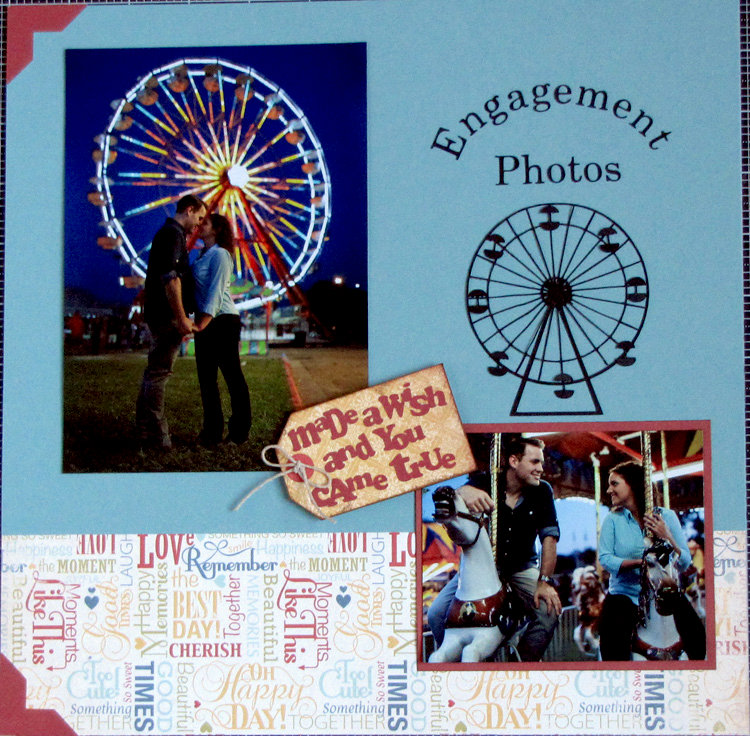 Engagement Photos/Wedding Invitation