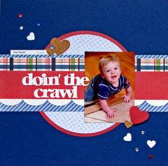 doin' the crawl