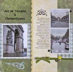 Arc De Triomphe & Champs-Elysees