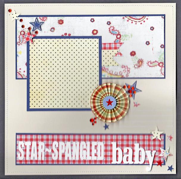 Star-spangled baby