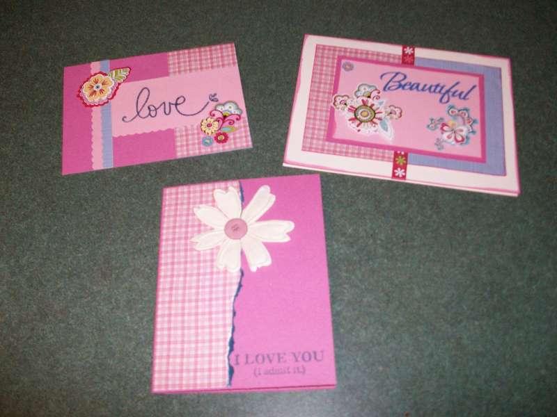 Valentine/Love Themed cards