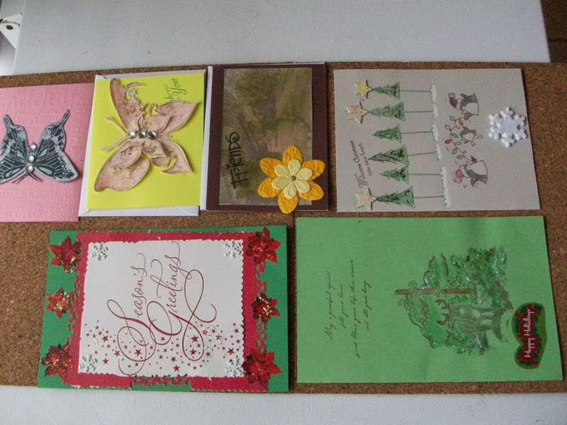 Cards received from Scrappy Grandma