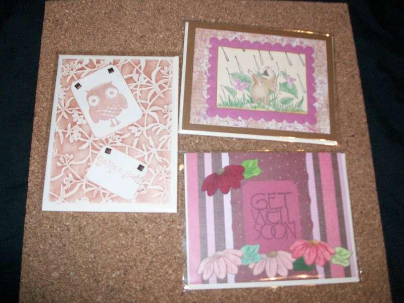 Cards from Donna (dkscrapper)