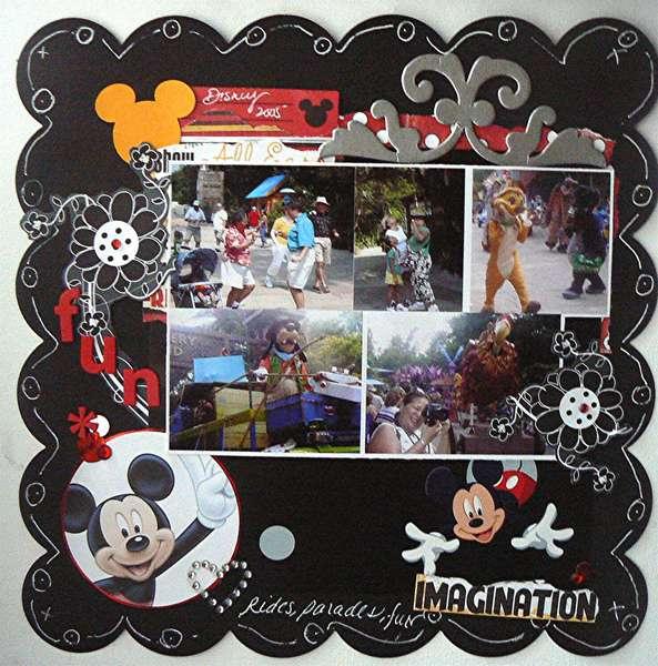 Disney views-Theme park challenge 20