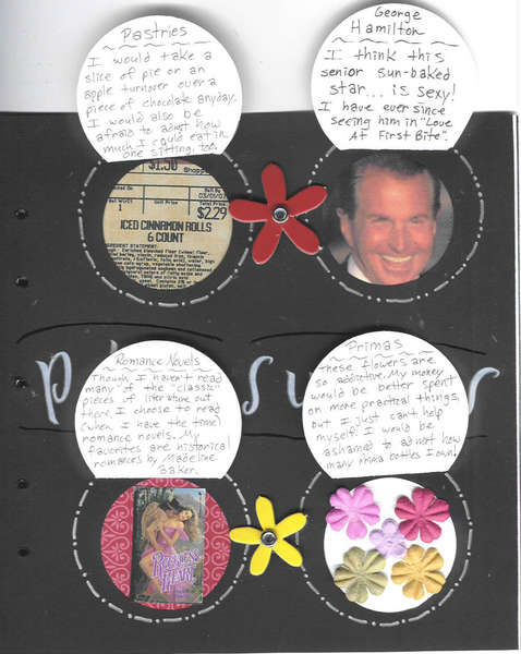 Megan's Circle Journal: Page 2 open