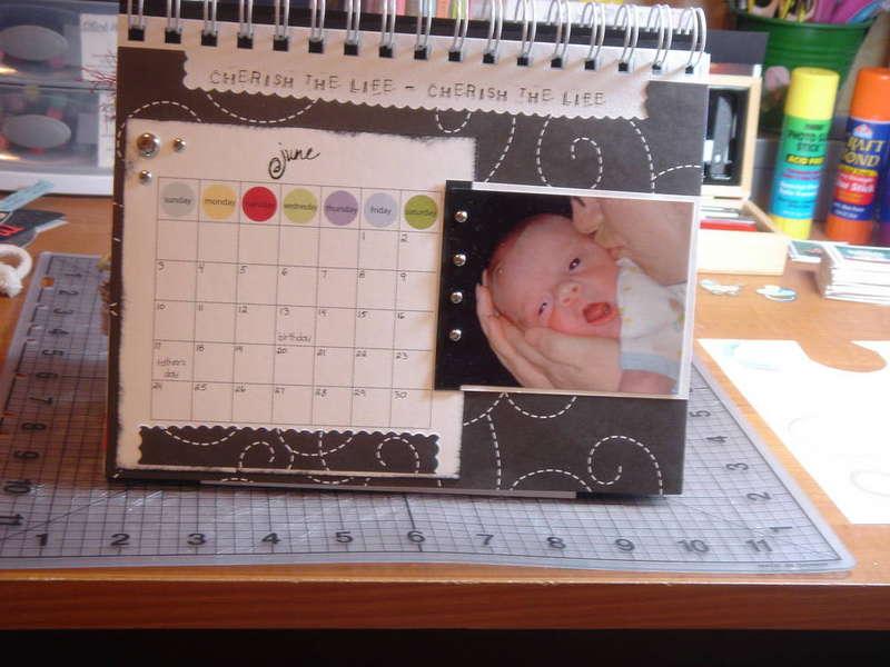 SIL's desktop calendar: June