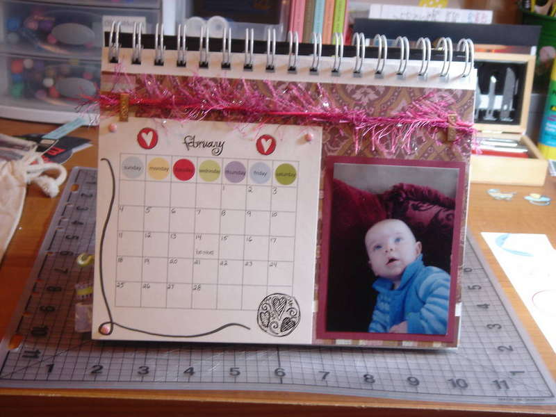 SIL's desktop calendar: February