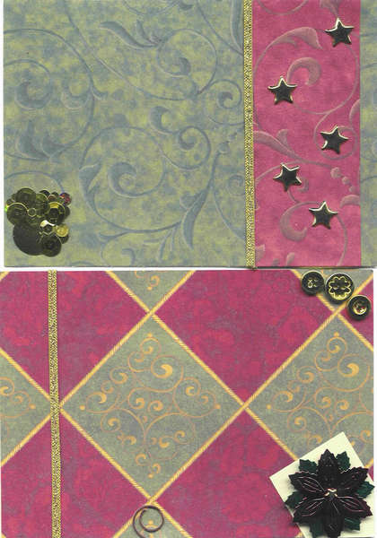 Tag Book - first set of pages
