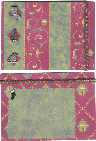 Tag Book  - third set of pages