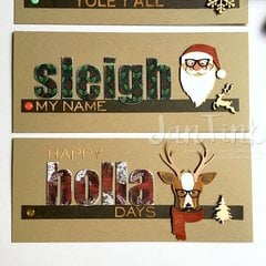 Cool Yule Cards