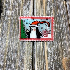 Merry Mail Christmas Lapel Pins