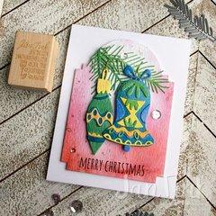 Whimsy Decor Christmas Card