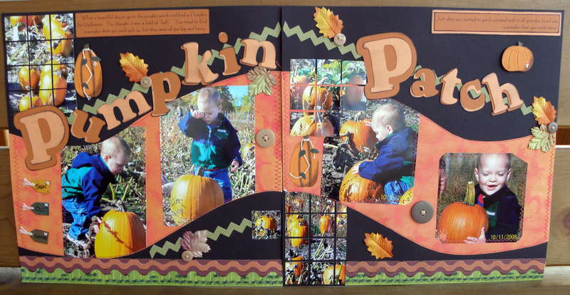 1 st year at the Pumpkin Patch