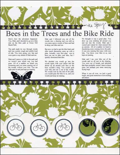 Bees in the Trees and the Bike Ride
