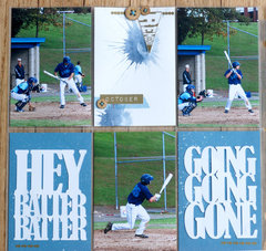 Hey Batter Batter : Pocket Page Style