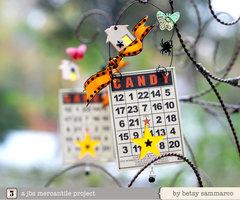 JBS Halloween Ornaments - Bingo Cards