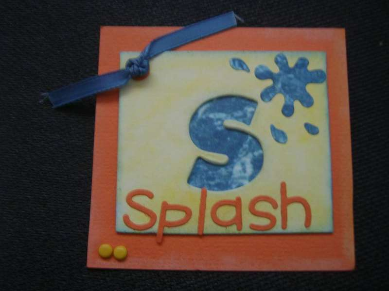 Summer Swap Stencil- Pool Time Fun