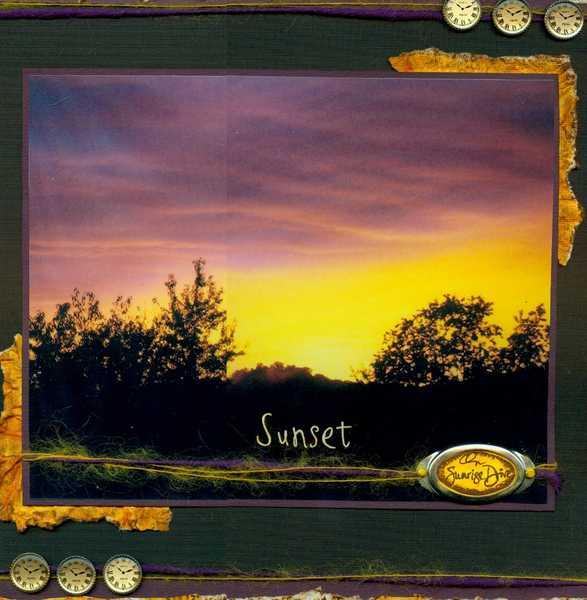 Sunset on Sunrise Drive