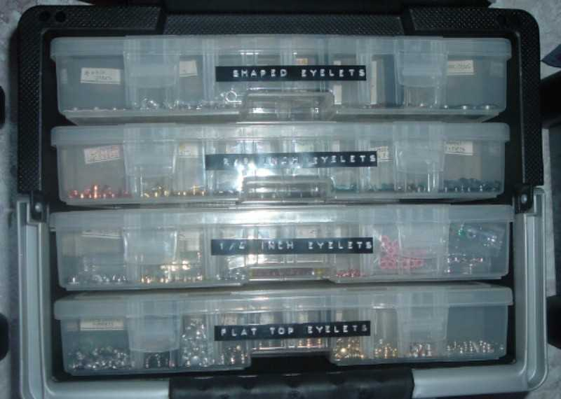 Eyelet Storage