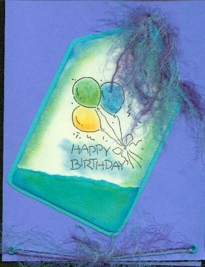 Tag Birthday Card