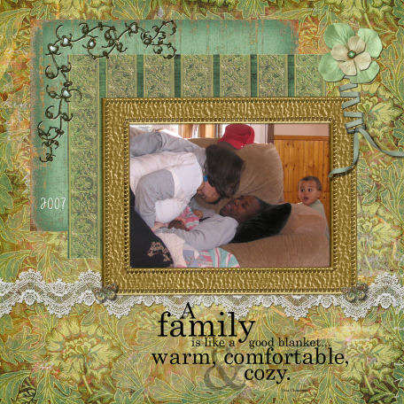 A Family is like a Blanket