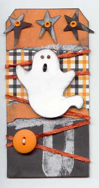 Halloween:  Ghost Tag