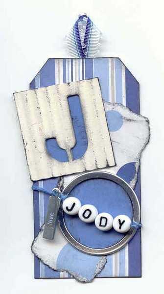 Stencil Tag:  J = Jody