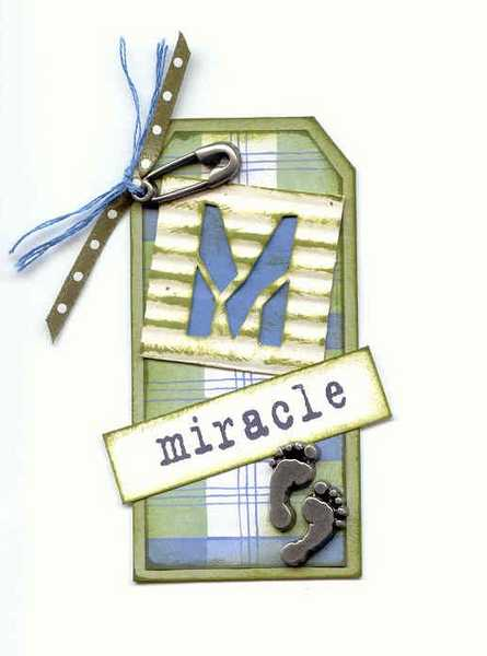 Stencil Tag:  M = Miracle