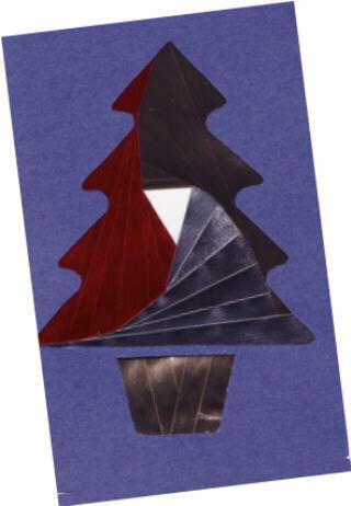 Iris folding Tree