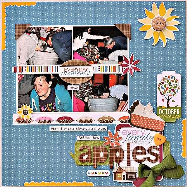 Bobbin' for apples