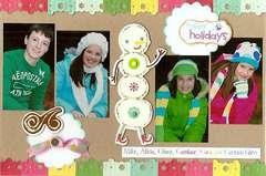 Christmas card (with photos)