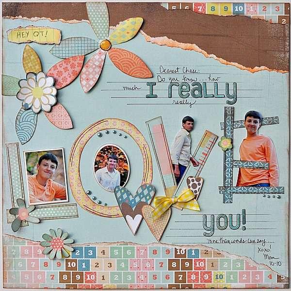 I really love you!