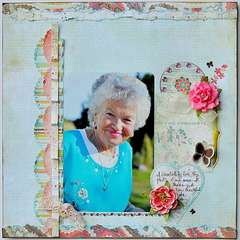 Love note (My Creative Scrapbook Album kit)