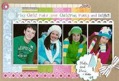 Christmas card (with photos)