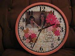 Sisters Clock *