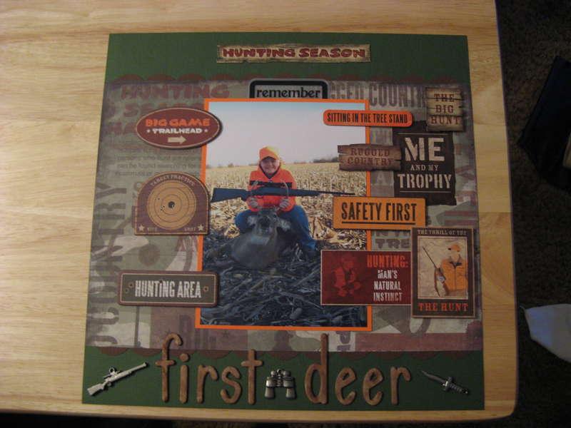 First Deer Redone *